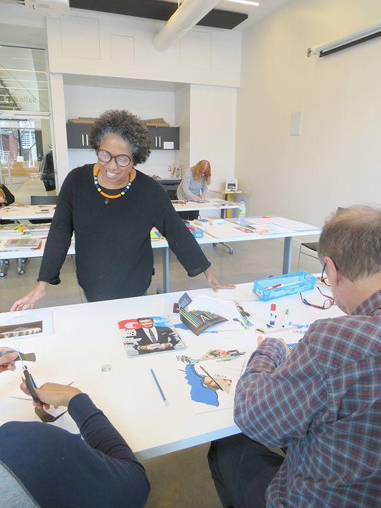 Atelier création Marie-Denise Douyon